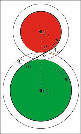 Tangenten Af En Cirkel